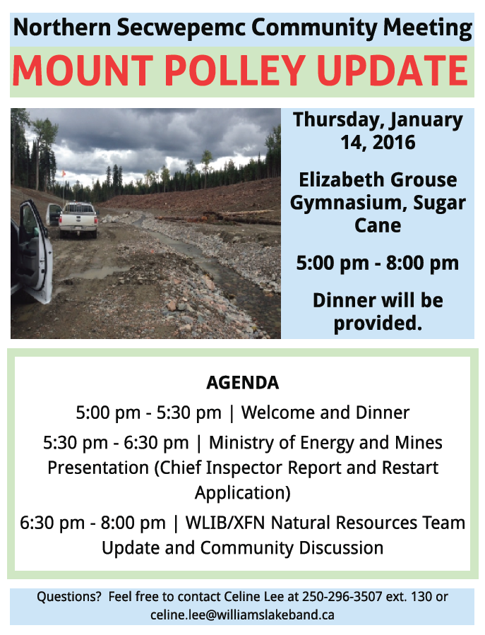 Mine Information – Northern Shuswap Tribal Council