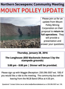 Mt. Polley Community Meeting_Jan.28-16